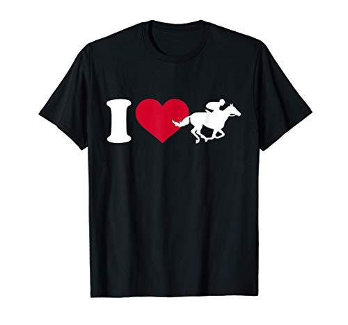 Me encantan las carreras de caballos Camiseta