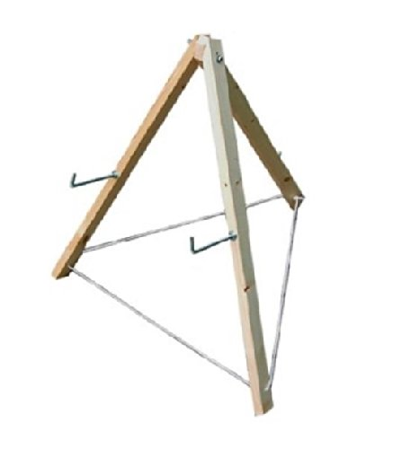Zielscheibenständer, f. Strohzielscheibe, Scheibenständer 70 cm f. Bogenschiessen