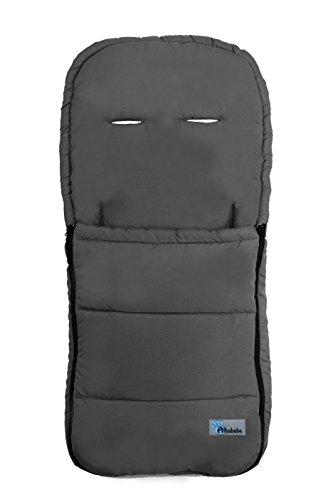 Altabebe AL2200-11 - Saco de verano para cochecito, color gris oscuro