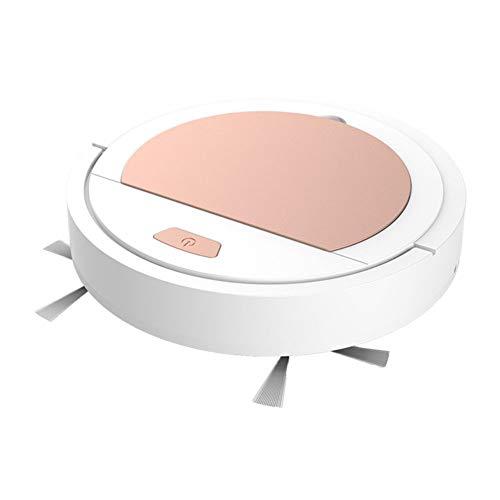 GHPXCQ Robot Aspirapolvere con Funzione Lavapavimenti Filtro HEPA Aspira e Lava Autonomia 90min 6.5cm Ultra-Thin AntiCollisione per Pavimenti e Tappeti Peli di Animali