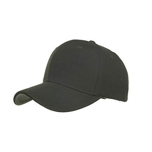 Gorra de Hombre y Mujer,Gorra de Béisbol con Algodón Sombrero de Sol de Color Sólido Ligero Actividades al Aire Libre Correa Moda de Hebilla de Metal Ajustable para Pesca Tenis Senderismo