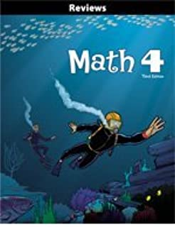 Math 4 Reviews (3rd Edition) by BJU Press (2009-01-01) Paperback