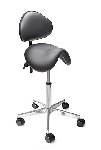 Lanab Group Chaise de Bureau Ergonomique Noir Taille M