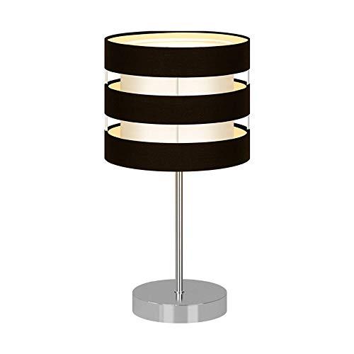 Gal Lámpara de mesa nórdica para dormitorio, lámpara de mesita de noche, moderna, minimalista, para hotel, decoración de mesa, 12 x 35 cm