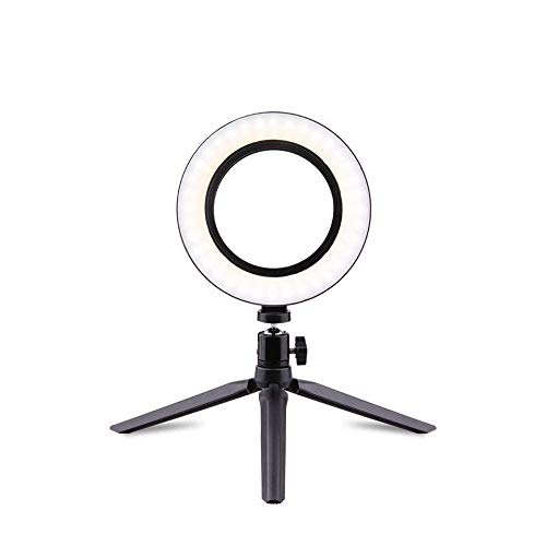En Vivo de Estados Unidos Yanbu Guang candelero 26cm Mini Mesa de llenado Directo Traje de luz (Color : Bluetooth, Size : 26cm)