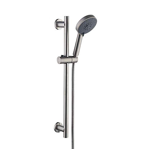 KES Slide Bar with Handheld Shower Head Hand...