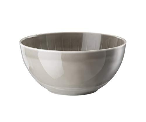 Arzberg Joyn Grey Bol à soupe en porcelaine, gris, Ø 19 cm, hauteur 9 cm, 1,50 L, 19 x 19 x 11 cm