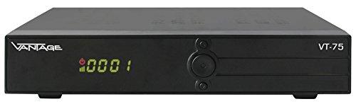 Preisvergleich Produktbild Vantage VT-75 (Digitalter Satellitenreceiver,  Unicable,  Scart,  Netzschalter,  USB,  EPG,  vorprogramiert)