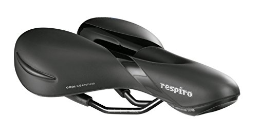 Selle Royal Group Respiro Soft Moderate Sillín, Mujer, Negro, M