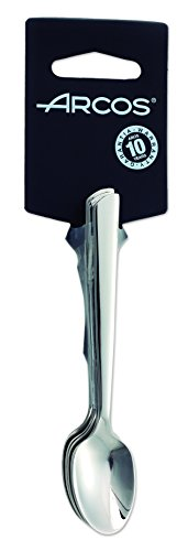 Arcos Toscana - Juego de cucharas moka, 115 mm, 6 piezas (6piezas)