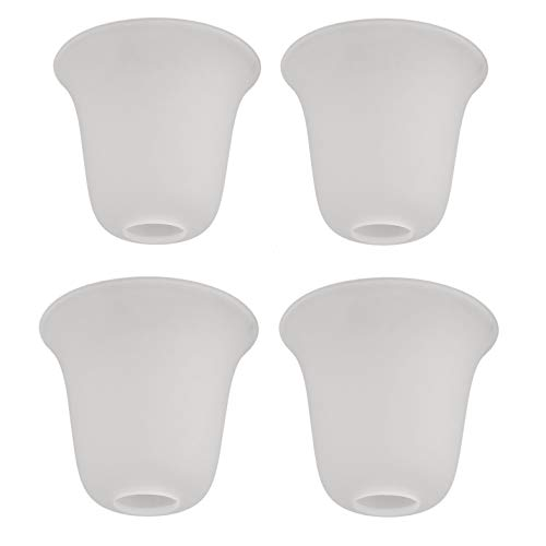 Eumyviv 4 Pack Bell Shaped Frosted Glass Lamp Shade...