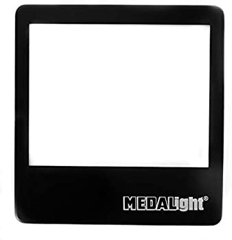 Medalight 5 x 4 Inches Ultra-Thin LED Light Panel Negative and Slide Viewer