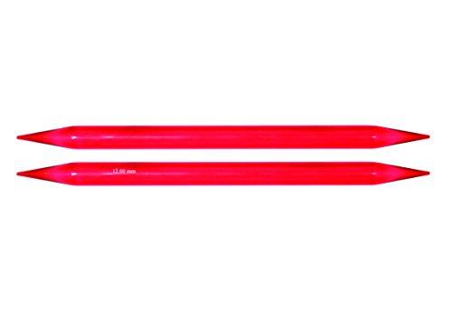 KnitPro 20 cm x 12,00 mm Strumpfstricknadel-Nadeln, Mehrfarbig, 12