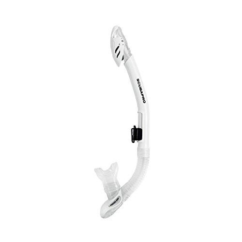 SCUBAPRO Fusion Dry Snorkel Blanco Blanco