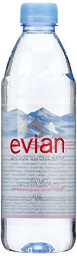 evian Mineralwasser, 2er Pack 2x (24 x 500 ml)