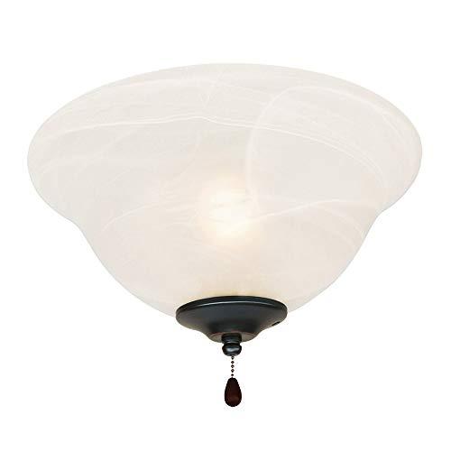 Design House 154211 3 Light Ceiling Fan Light, Oil Rubbed Bronze