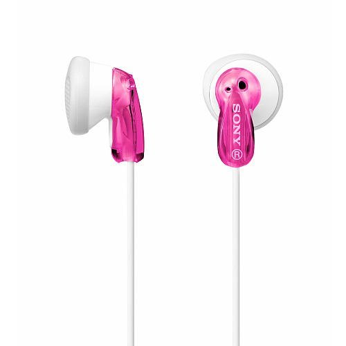 Sony MDR-E9LP Pink Earbud Heaphones