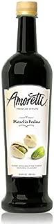 Amoretti Premium Syrup, Pistachio Praline, 25.4 Ounce