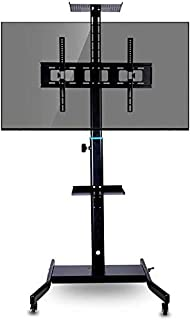 TV Mount Stands, Movable cart TV Stand for 32-60 inch Plasma/LCD/LED (173cm) (Color : A)