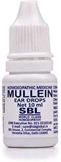 (Pack of 2) Mullein Ear Drops 10ml New