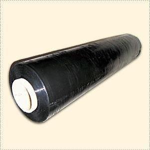 1 x Stretchfolie Wickelfolie schwarz 50cm x 300m 23my (0,04 Euro/lfm)