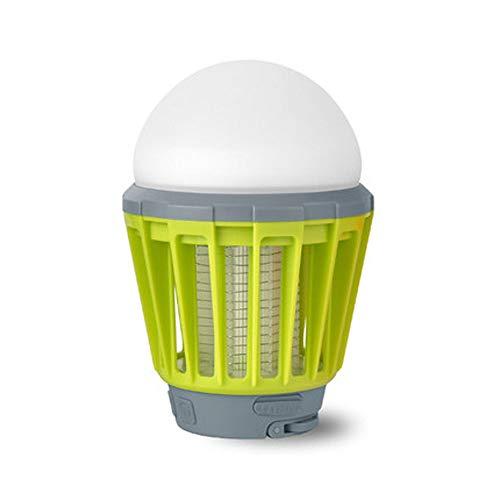XXCC Lampe Anti-Moustique,Lampe Anti-Moustique à Double Usage extérieur/intérieur,Anti-Moustique à Double Usage,étanche à l'eau,Anti-Moustique à décharge électrique,Abat-Jour Amovible