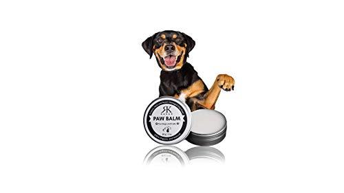 RK RAKAO Premium Pfotenbalsam Hund Winter Sommer - Pfotenpflege Hund - Paw Balm - Paw Creme - Pfotenwachs - Pfotenschutz Hund für spröde Pfoten - Hund Zubehör - Hundepfoten Pflege - NATÜRLICH
