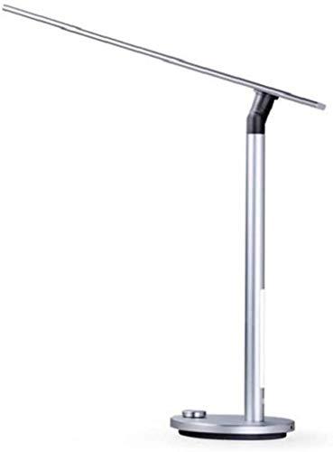 Aplique de metal Lámpara de escritorio LED Dimmable Lámparas de mesa de cuidado regulable Dimmer 3 de iluminación Modo de iluminación Control 2 fuentes de luz Luz de cama plegable para estudio, lectur