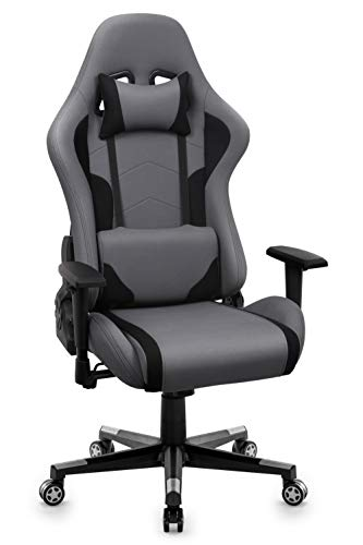 IntimaTe WM Heart Fauteuil Gaming en Tissu, Racing Chaise de