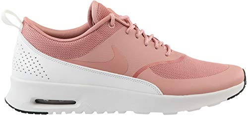 Nike Women's WMNS Air Max Thea Low-Top Sneakers, Multicolour (Rust Pink/Rust Pink/Summit White/Black 001), 8.5 UK
