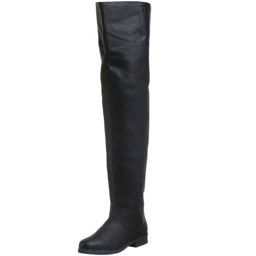 Pleaser Herren MAVERICK-8824 Klassischer Stiefel, schwarz (Blk Leather) (P), 43 EU