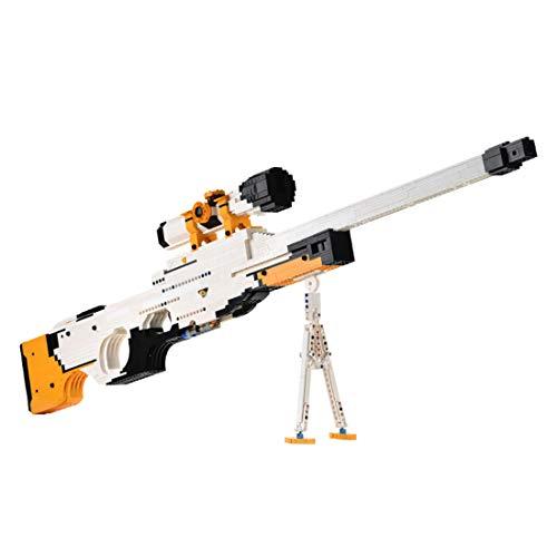 Morton3654Mam Juego de 2035 piezas de construcción para armas de tiro, compatible con Lego