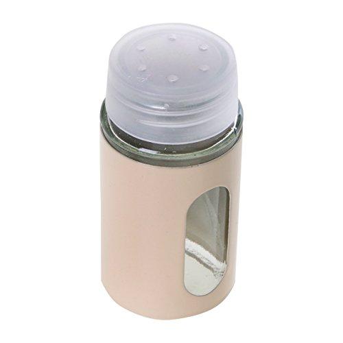 SchäferUniversalstreuer 5 teilige Salz Pfeffer Streuer Halterung in Creme - Schäfer 5 Parça Baharat Seti Krem