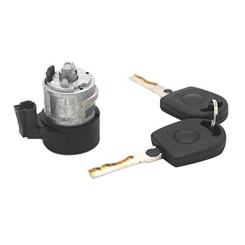 Daojun Interruptor de Bloqueo de Encendido 3B0905855C 107905855CB Barril Set for Passat Asiento Bora Golf A2 A3 A4 A6 A8 (Color : Black)