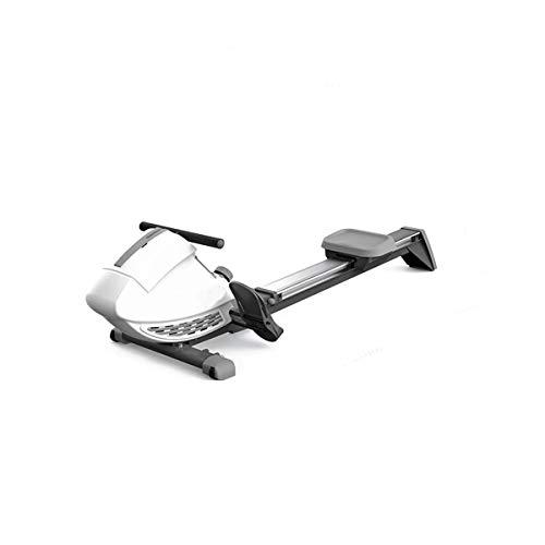 TWW Magnetwiderstand Rudergerät Home Fitnessgeräte Intelligente Ultra-Leise Klappbare Magnetron Rudergerät Gewichtsverlust Fettverbrennung
