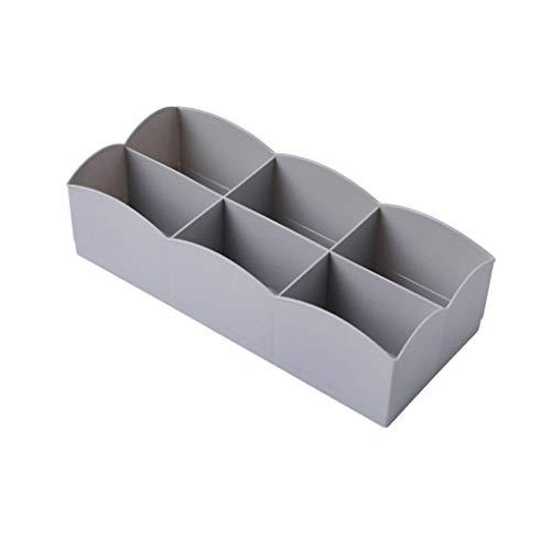 DANDANdianzi sous-vêtements Diviseur Closet tiroirs Organisateur boîte de Rangement Bra Case Ties Chaussettes Grids Container