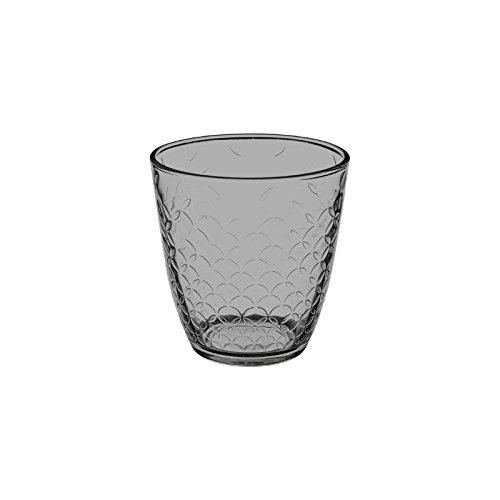 Gobelet En Verre Avec Motifs - Concepto - 25 Cl - Gris