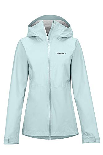 Marmot M. Europe Wm'S Precip Stretch Giacca Impermeabile, Donna, Corydalis Blue, M