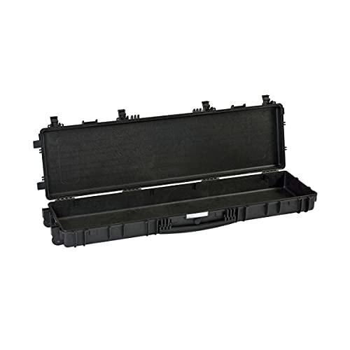 EXPLORER Long Gun Case, Valigia stagna Vuota, Nera, Taglia 90 Unisex-Adulto, Nero