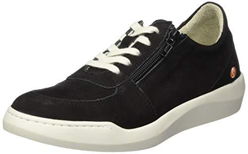 Softinos Damen BLAI573SOF Sneaker, Schwarz (Black 000), 39 EU