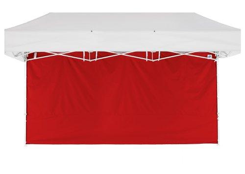 Unbekannt E-Z UP 38,1 cm Seitenwand, Rot, Traversen-Clips