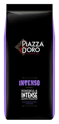 Piazza D'Oro Intenso, 1kg Bohnenkaffee, ganze Bohne, kräftig und intensiv, langsam geröstet