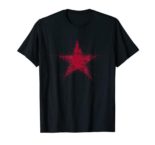 Soviética Estrella Roja CCCP URSS Unión Soviética Vintage Gráfico Camiseta