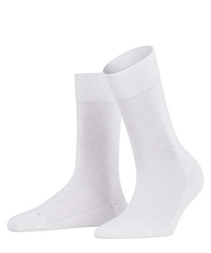 FALKE Damen Sensitive London W SO Socken, Weiß (White 2009), 39-42