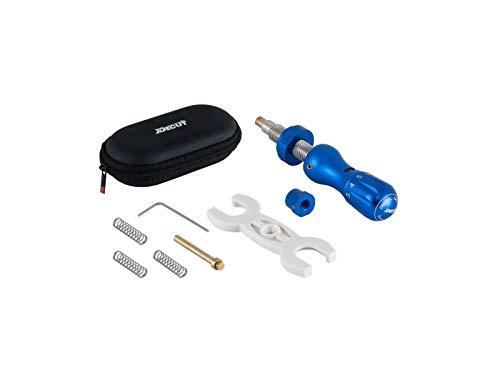 Decut Janus Micro-Click Button Plunger Rasterbutton blau