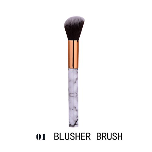 Make Up Pinselset Single Marmor LippenbüRste GrundierungsbüRste Lidschattenpinsel Make-Up-Pinsel