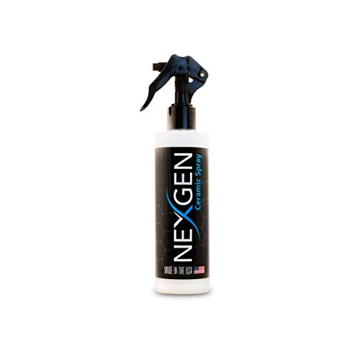 Nexgen Premium Ceramic Coating for Cars Finishing Spray, Professional-Grade Vehicle Boat Motorcycle Protective sealant, Silicon Dioxide, Water and Dirt Repellant, Hydrophobic top Coat Polish Formula