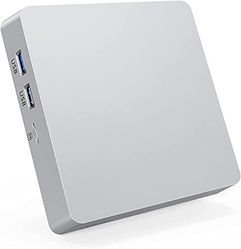 Mini PC, Atom Z8350 8GB RAM/128GB ROM Mini Ordenador, Windows 10 Pro Support 4K HD, HDMI+VGA, 2.4G/5G WiFi, Bluetooth, Gigabit Ethernet Mini Desktop Computer