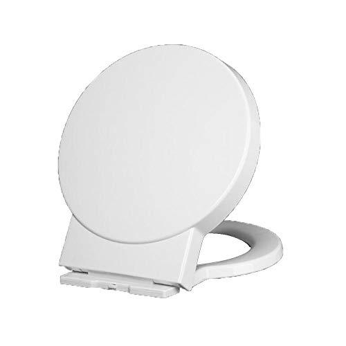 WC-Sitz runder Dicker Toilettensitz Toilettenpuffer stumm abnehmender Bezugssitz
