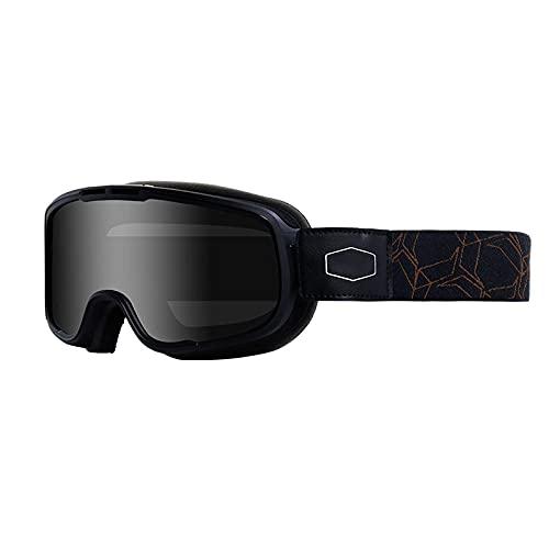 Zfeng Gafas deportivas polarizadas al aire libre Gafas de montar a través del país a prueba de viento a prueba de niebla y a prueba de rayos UV, protección de ojos y gafas de sol transpirables-B